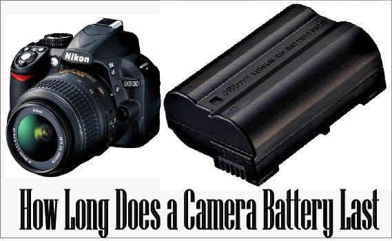 how long does a camera battery last