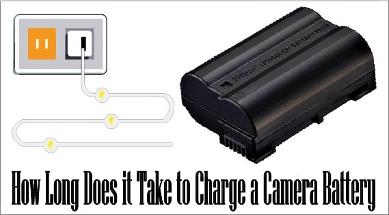 how long does a canon battery takes to charge
