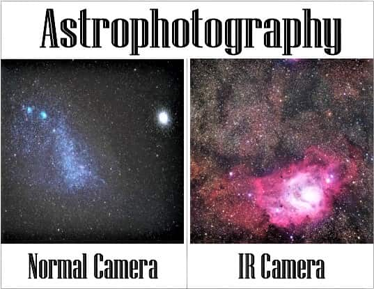 astrophotography in ir