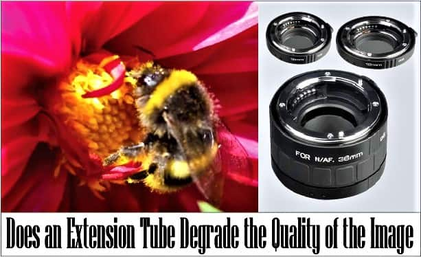 do extension tubes degrade the quality of the images